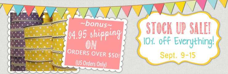15% off Dots & Stripes