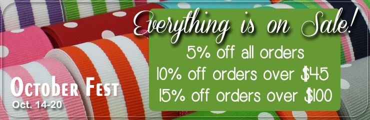 Volume Discounts - Save up to 15% off!