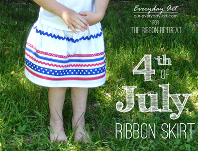 4th of July Ribbon Skirt
