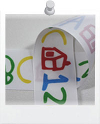 ABCs and 123s Ribbon