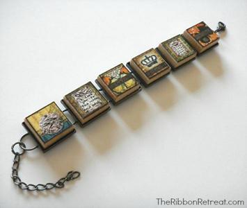 Alphabet Tile Bracelet