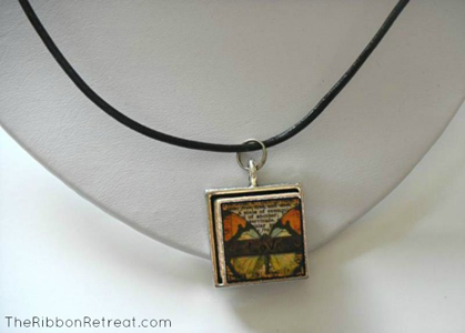 Alphabet Tile Necklace