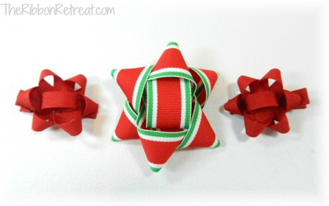 Make a Christmas Package Bow