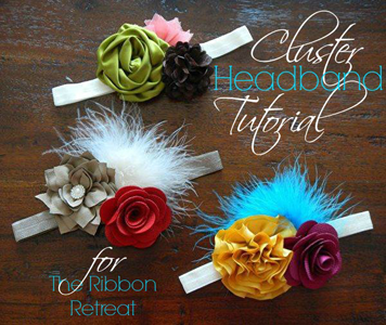 Cluster Headband Tutorial