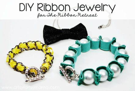 DIY Ribbon Jewelry
