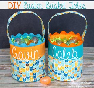 Easter Basket Totes
