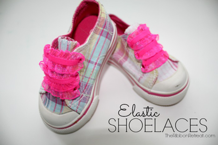 Easy Elastic Shoelaces