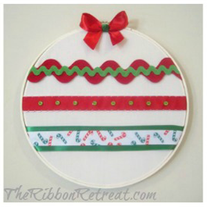 Ribbon Embroidery Hoop