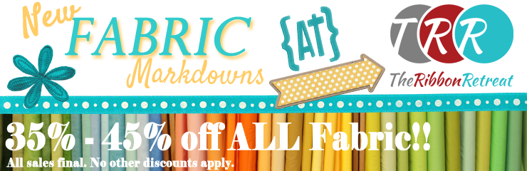 Fabric Closeout! 35% off & Up !