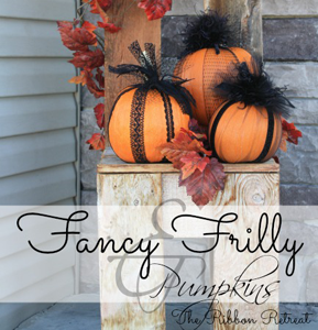 Fancy Frilly Pumpkins