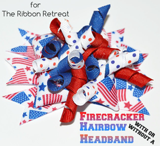 Firecracker Korker Hair Bow
