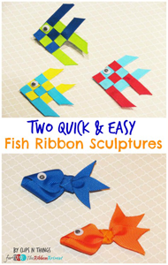Quick & Easy Fish Ribbon Sculptures