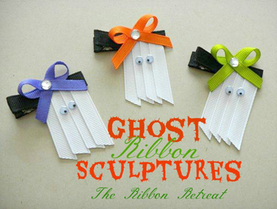Ghost Ribbon Sculptures