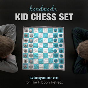 Handmade Kid Chess Set