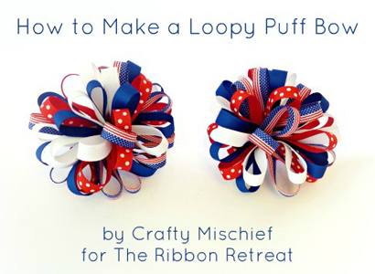 Loopy Puff Bows