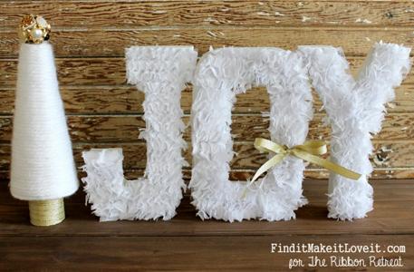 Chiffon Grass Letters