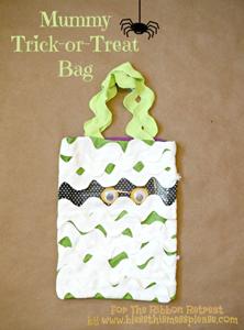 Mummy Trick or Treat Bag