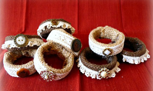 Lace Napkin Rings