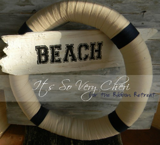 Nautical Beach Wreath