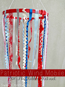 Ribbon Wind Mobile