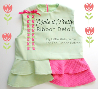 Pretty Ribbon Bodice