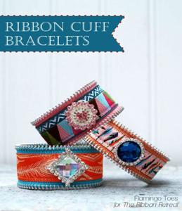 Ribbon Cuff Bracelets