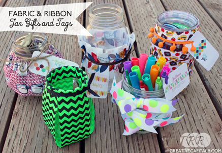Ribbon Jar Gifts