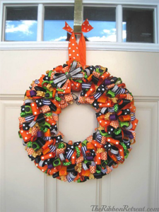 Super Loopy Ribbon Wreath