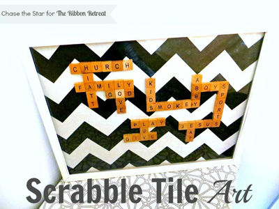 Scrabble Tile Art