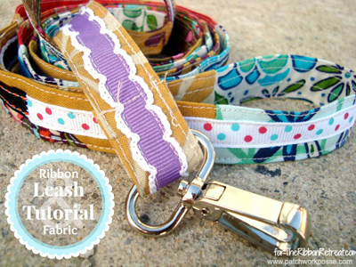 Ribbon Leash Tutorial