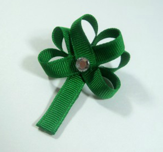 Shamrock Ribbon Sculpture