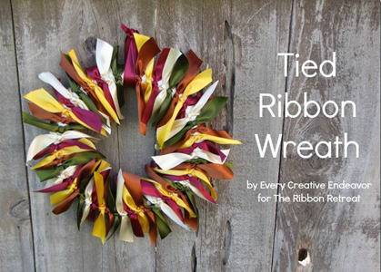 Tied Ribbon Wreath