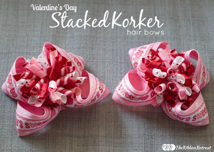 Stacked Korker Hair Bows