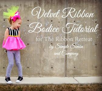 Velvet Ribbon Bodice