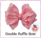 Double Ruffle Bow