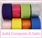 Solid Grosgrain & Satin