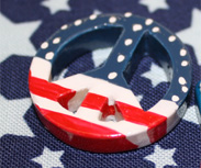 4th of July Resins & Buttons