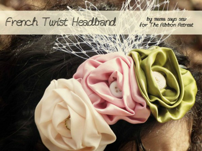 French Twist Headband