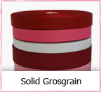 Solid Grosgrain