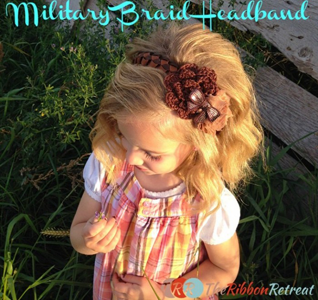Military Braid Headband