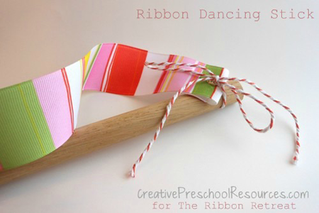 Ribbon Dancing Stick
