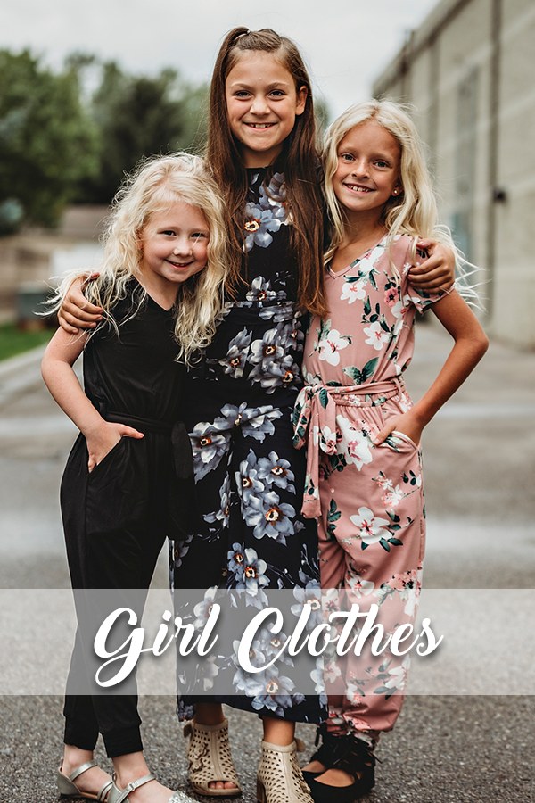 Amber & Ivory Girls Clothes